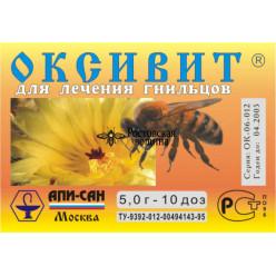 Лекарство Оксивит (порошок) на 10 п/c гнилец